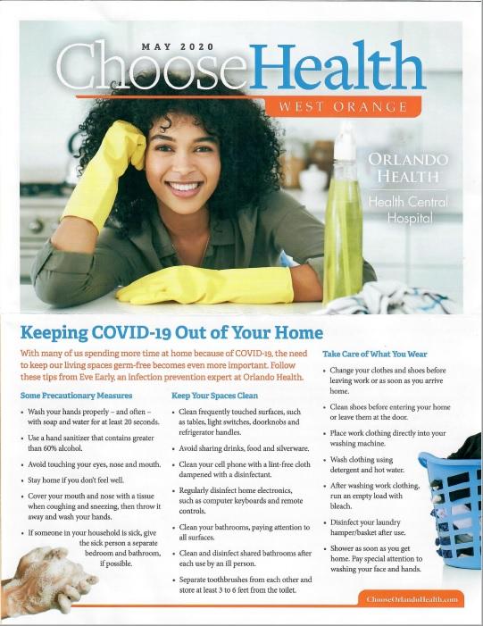 Orlando Health mail piece