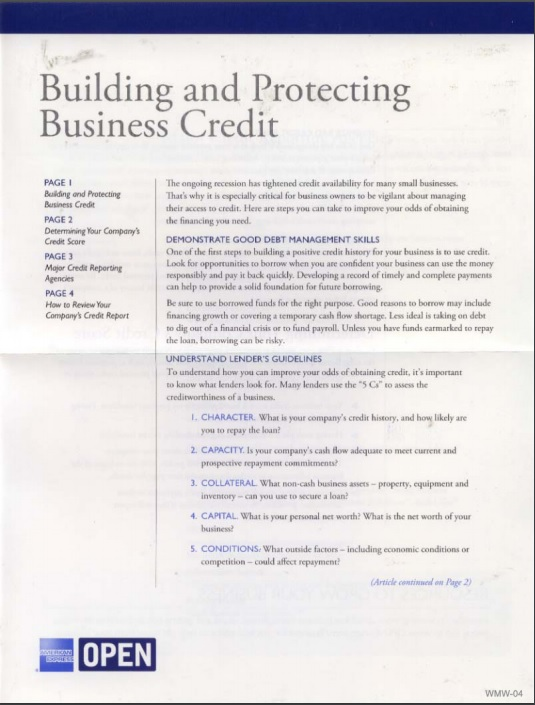 best practices for b2b direct mail American Express