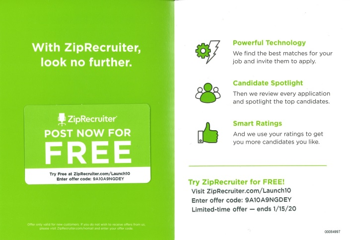 best practices for b2b direct mail ZipRecruiter